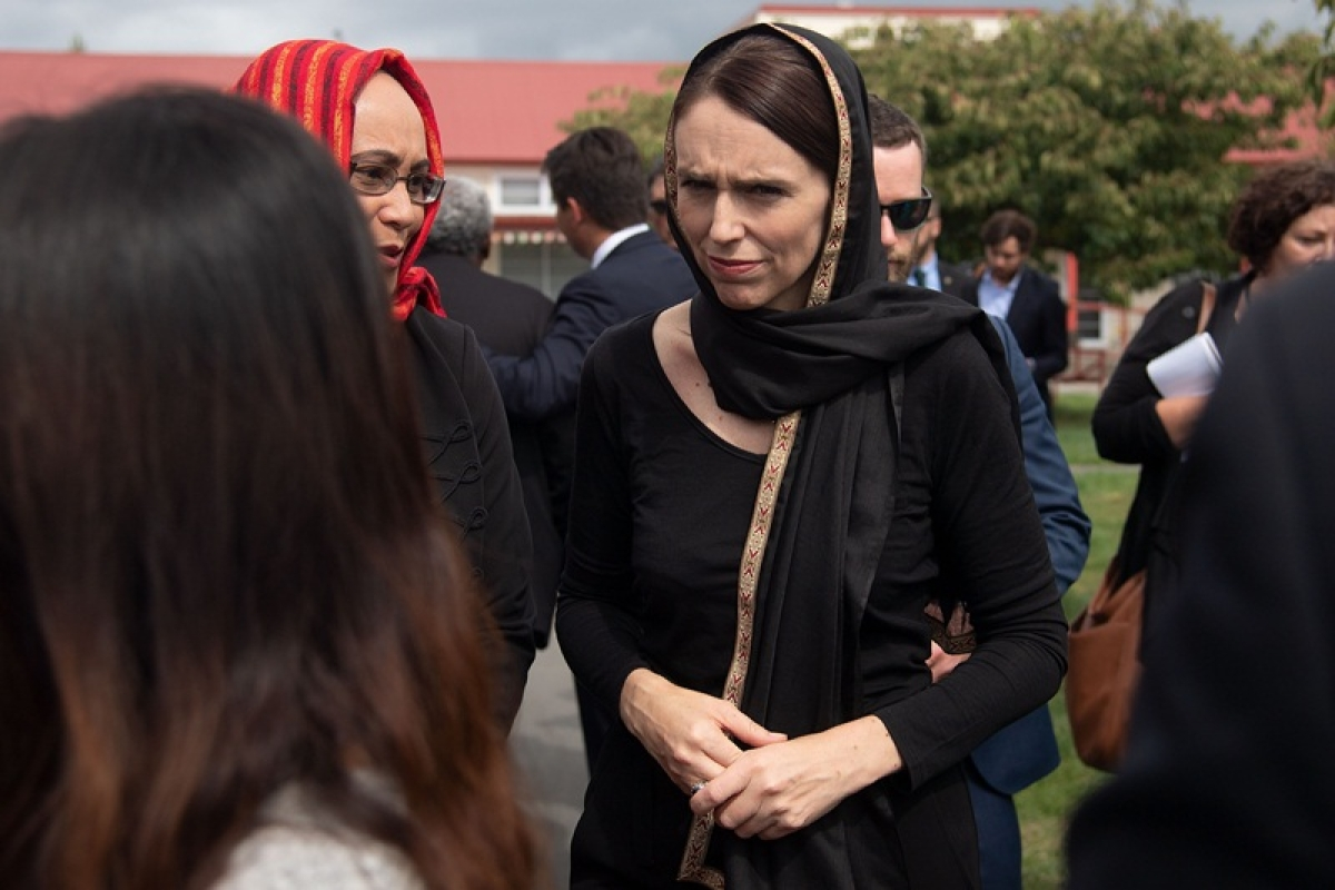In Photo: New Zealand Prime Minister Jacinda Ardern (Photo by Marty MELVILLE / AFP)