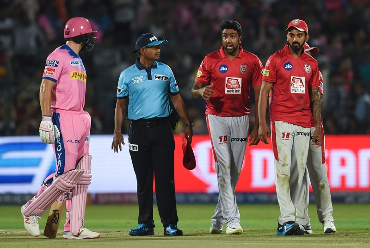 Jos Buttler becomes first victim of 'Mankading' in IPL 2019, R Ashwin the executor
