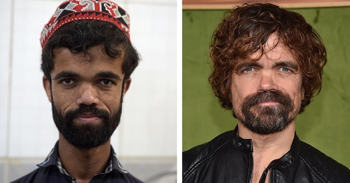 Peter Dinklage's third doppelganger found in Pakistan