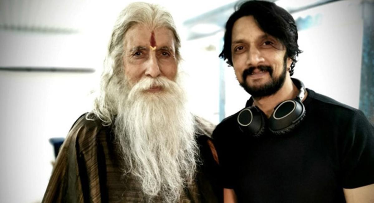 Kiccha Sudeep, excited to share screen space with Amitabh Bachchan againin Sye Raa Narasimha Reddy