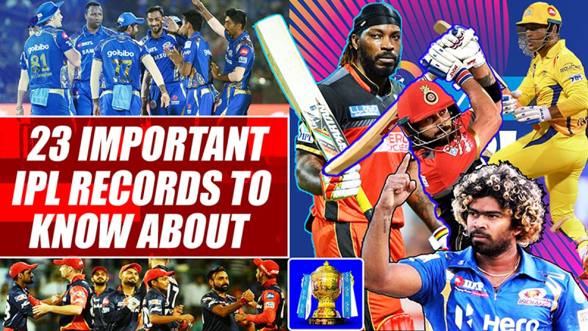 23 Important IPL Records To Know About
