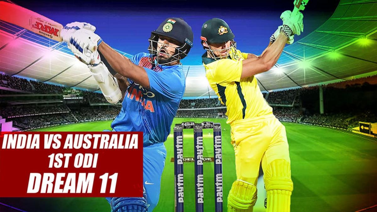 India vs Australia 1st ODI at Hyderabad: Playing XI, Dream 11 Prediction For India And Australia