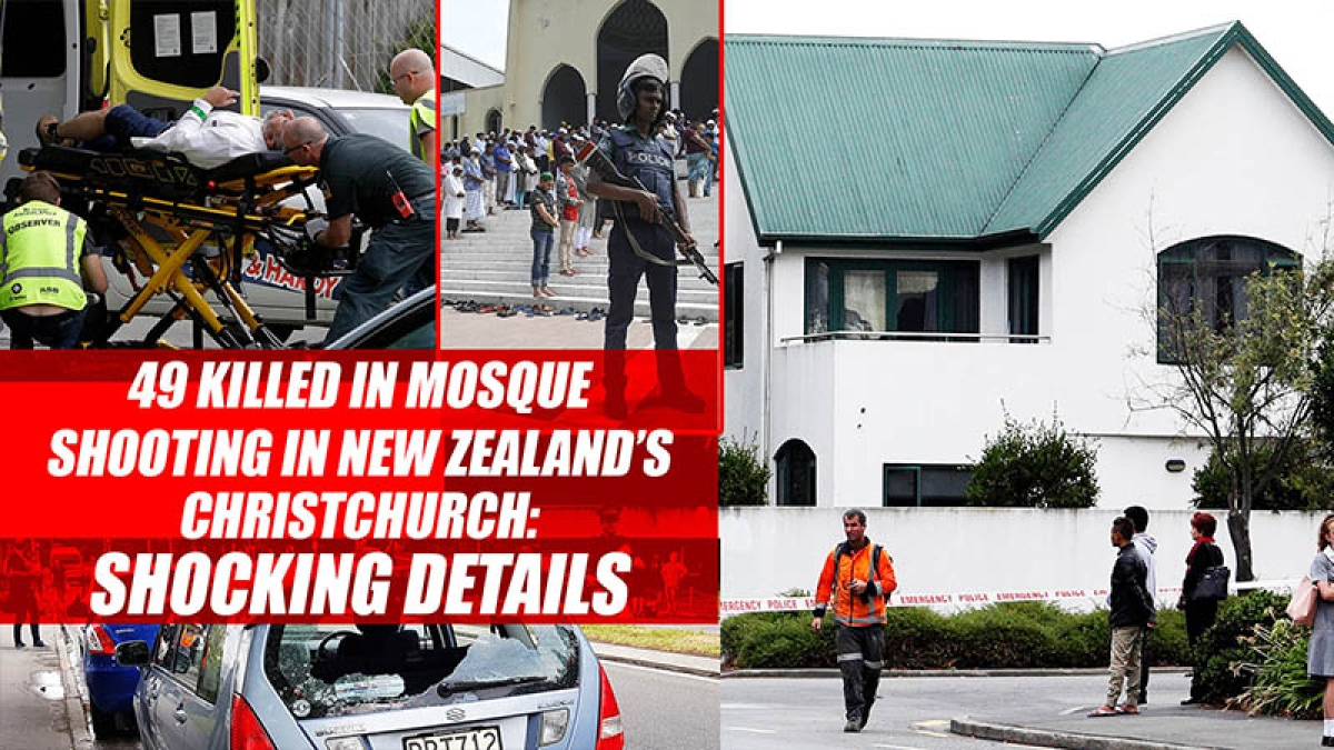 49 killed In Mosque Shooting In New Zealand's Christchurch: Shocking Details