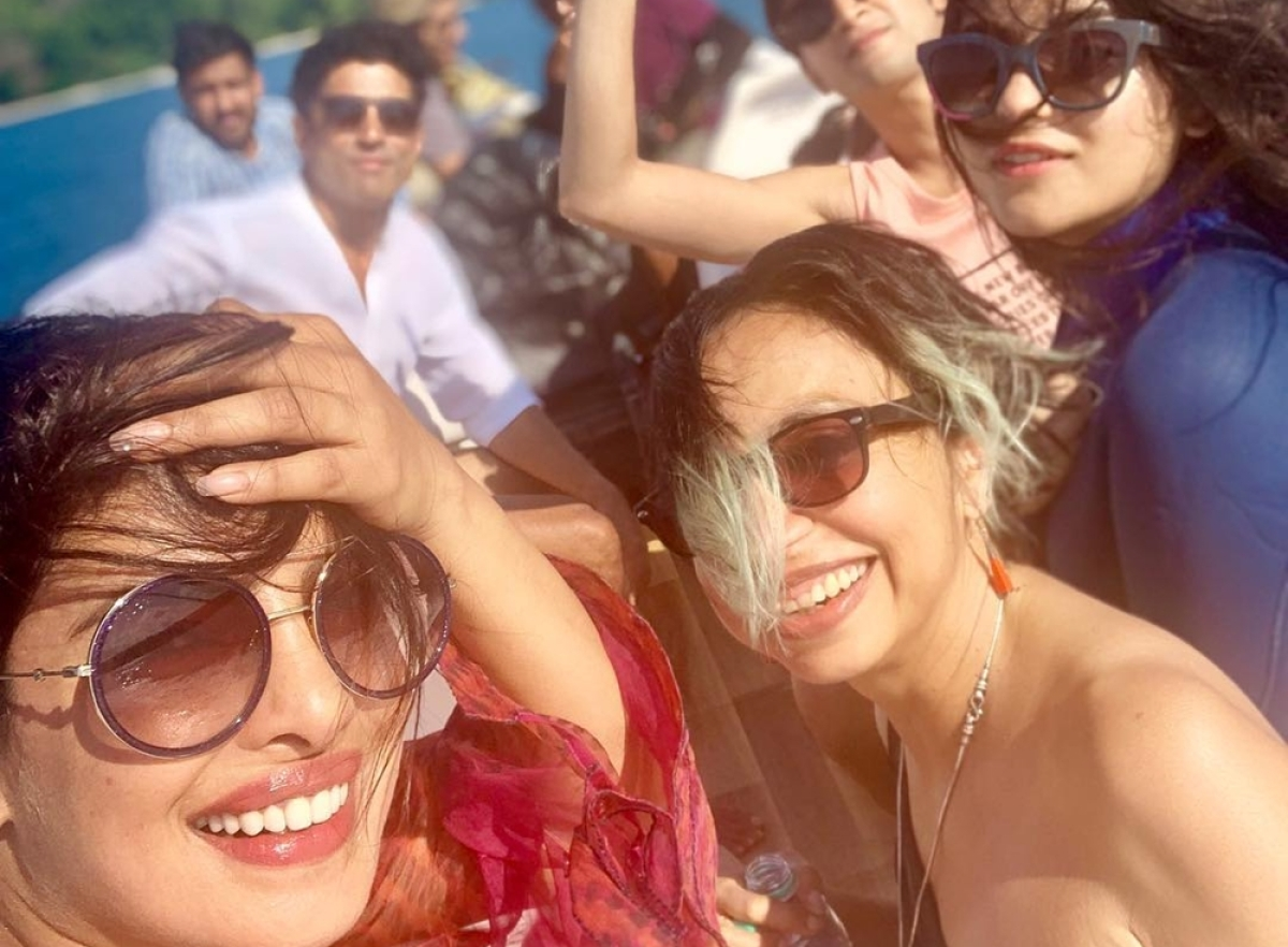 Priyanka Chopra's latest Instagram post shows The Sky Is Pink crew basking in sweet sunshine