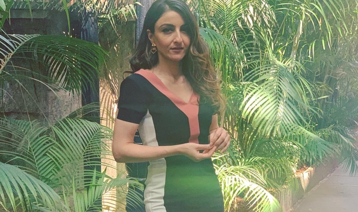 """Embracing motherhood has been a life changing experience"", says Soha Ali Khan"