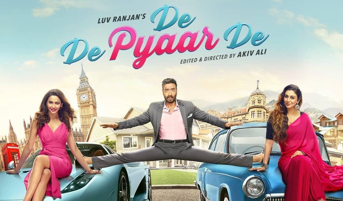 Ajay Devgn recreates his iconic leg split in 'De De Pyaar De' first look