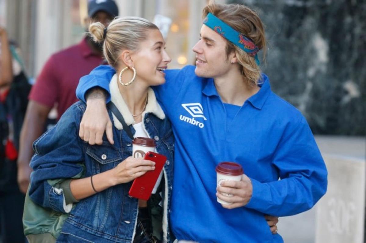 Justin Bieber, Hailey Baldwin spotted having a showdown