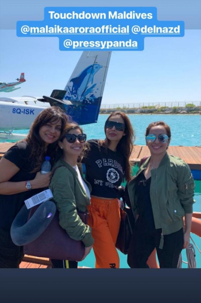 Did Malaika Arora host a bachelorette in Maldives ahead of wedding with Arjun Kapoor?