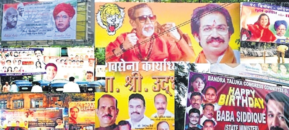 Mumbai: 11,558 advertisements, posters removed from city