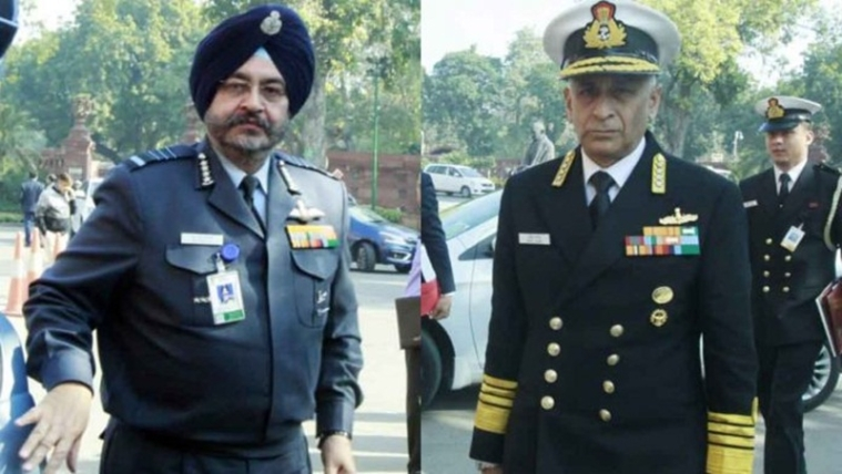 In wake of Indo-Pak tension, chiefs of Indian Air Force and Navy to get Z-plus security