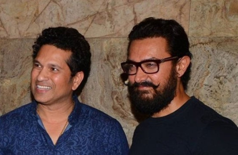 Aata Kya Khandala? Aamir's filmy exchange with Sachin Tendulkar on his birthday is too adorable to miss