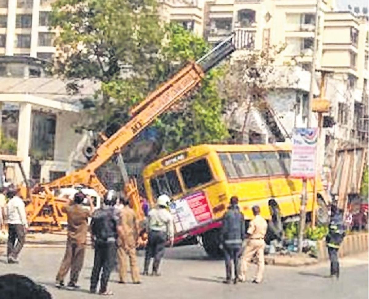 Mumbai: It is chalta hai for tots' parents after school bus mishap