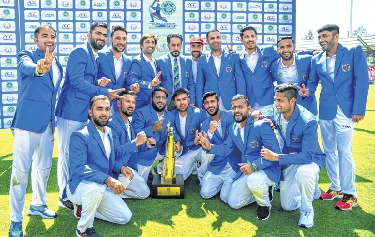 Afghanistan record maiden Test win, defeat Ireland by 7 wickets
