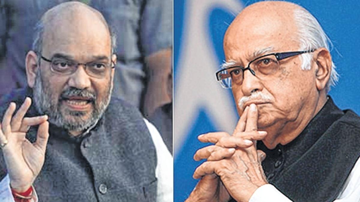 Advani to give way to Amit Shah?