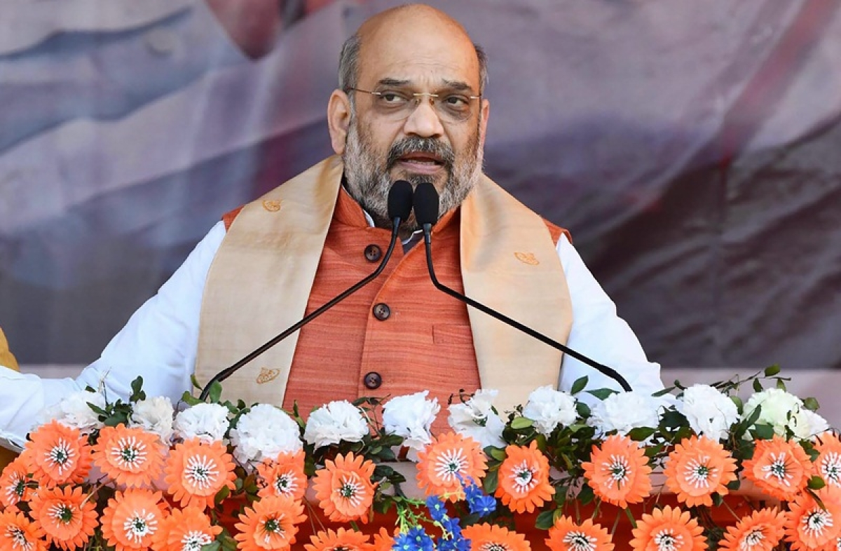 Congress is talking about poverty removal since Jawaharlal Nehru's time: Amit Shah