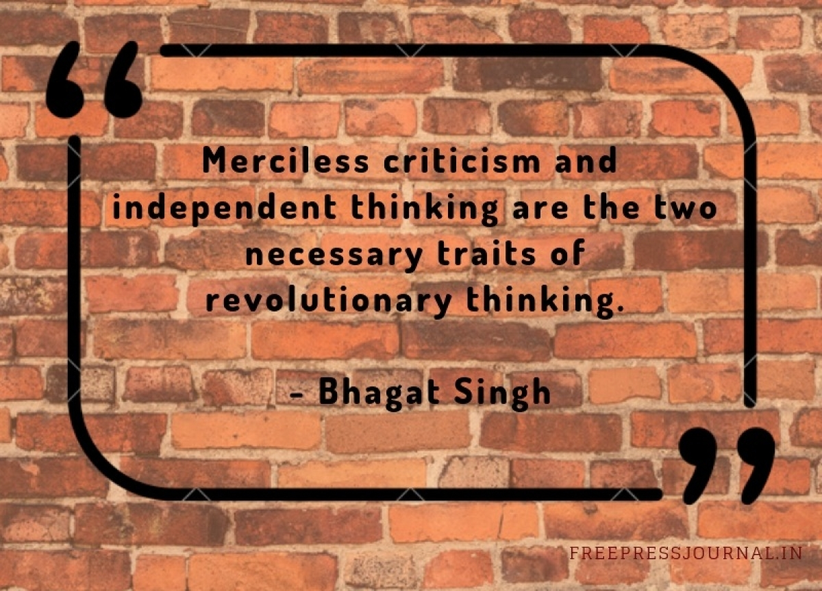 Shaheed Diwas: 10 powerful quotes by Bhagat Singh that are relevant even today