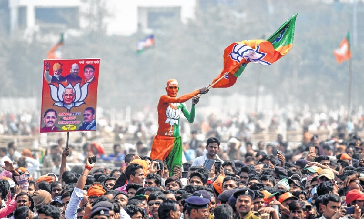 Bhopal: BJP knot amused, wants Election Commission rap for 'dancing' superintendent of police, minister