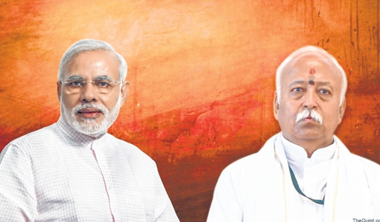 RSS on a mission to put Narendra Modi back in PM's chair