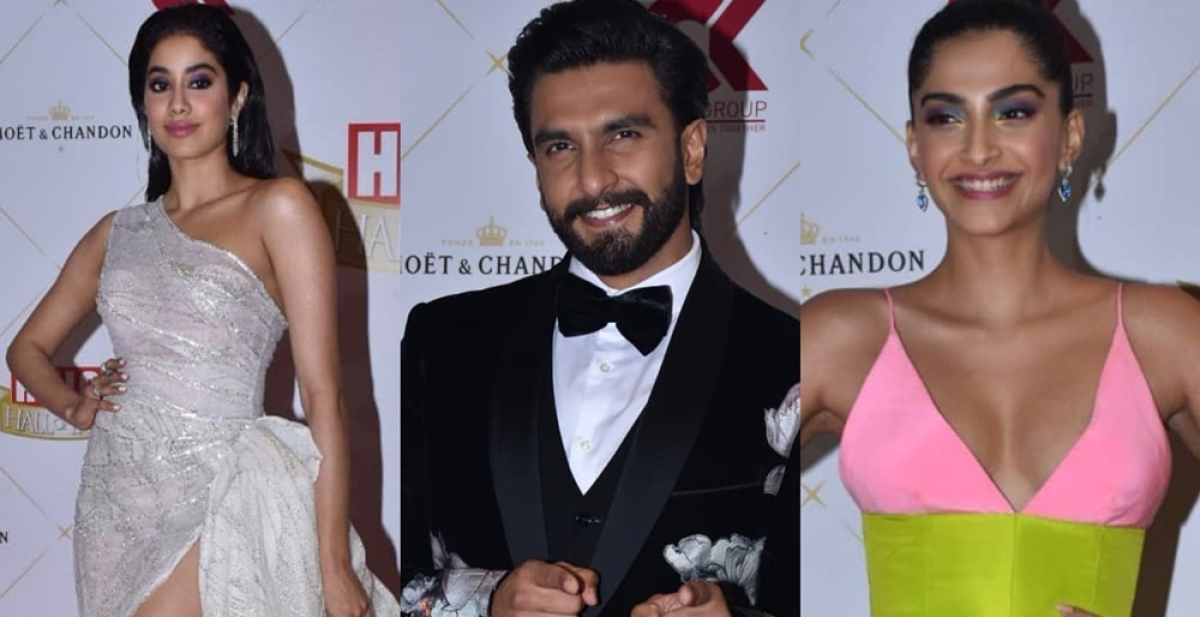 Hall of Fame Awards 2019: Ranveer Singh, Sonam Kapoorand other B-town celebs slay the red carpet