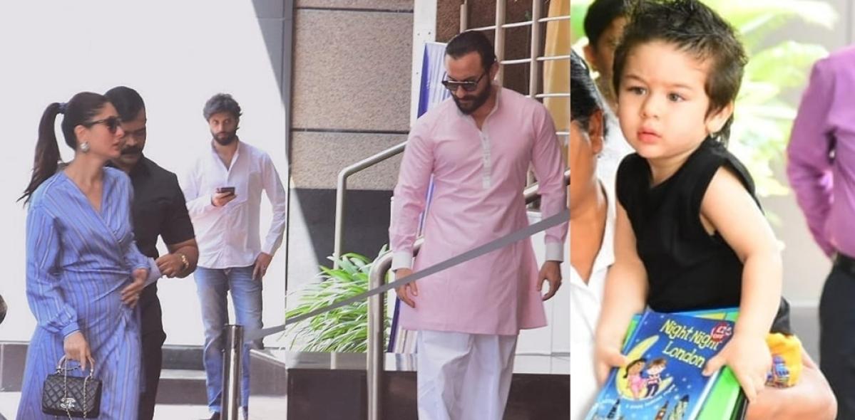Proud parents Kareena Kapoor- Saif Ali Khan attend Taimur's Annual Day at school