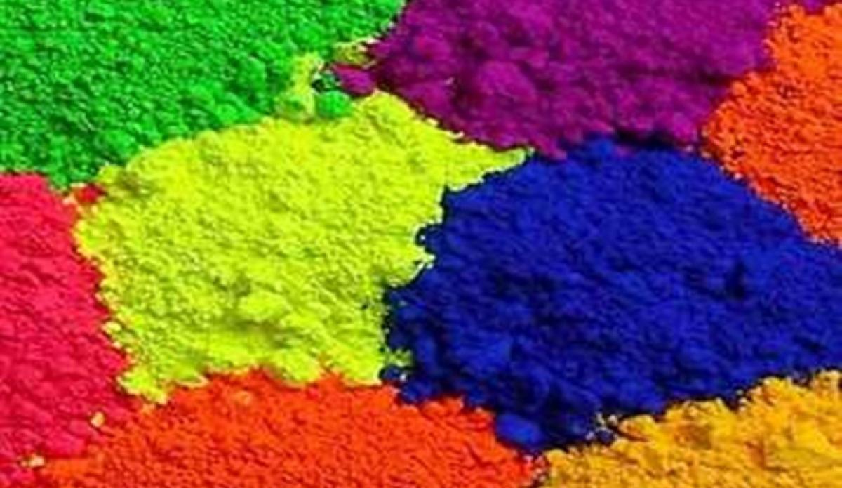 Indore: Colour-making workshop at Jimmy McGilligan Centre