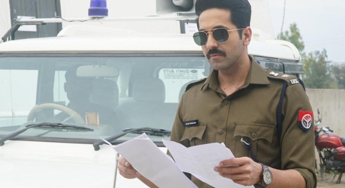 Ayushmann Khurrana's first look as cop in 'Article 15'
