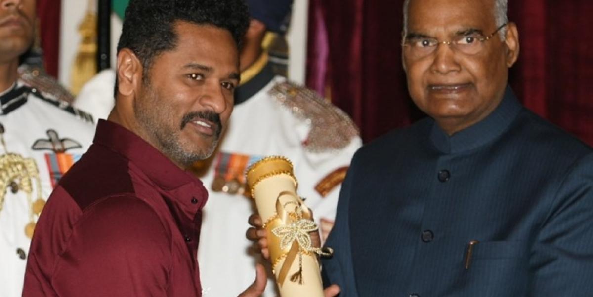 President confers Padma Awards to Prabhu Deva, Shankar Mahadevan, Kader Khan and others