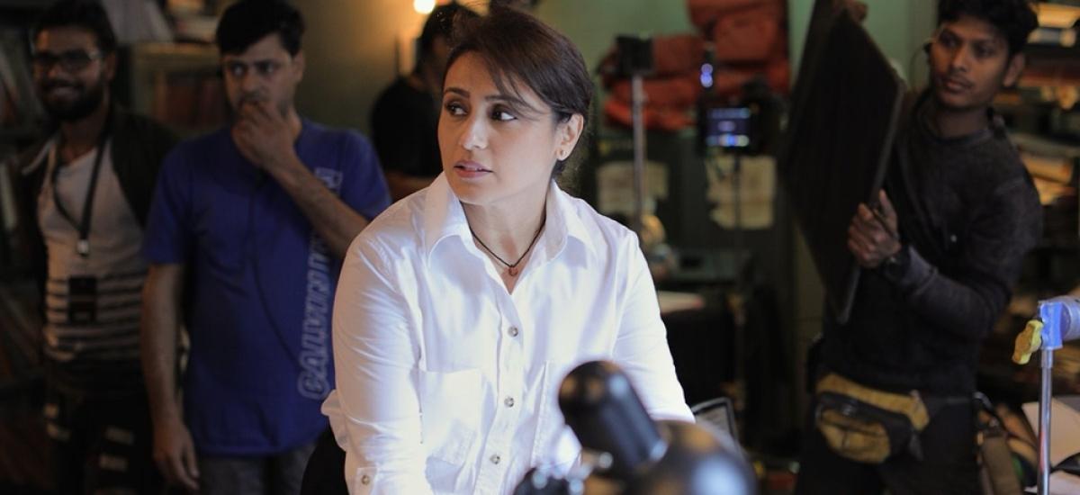 Rani Mukerji starts shooting for the intense action packed 'Mardaani 2'