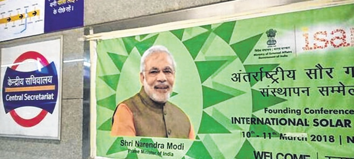 Congress complains to EC on PM Modi's hoardings