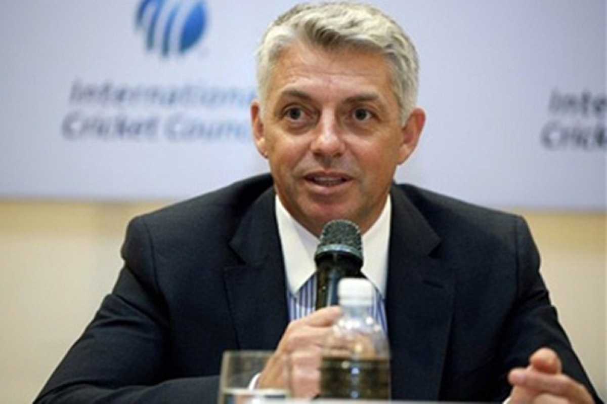 ICC chief Dave Richardson clears the air over India-Pakistan World Cup match