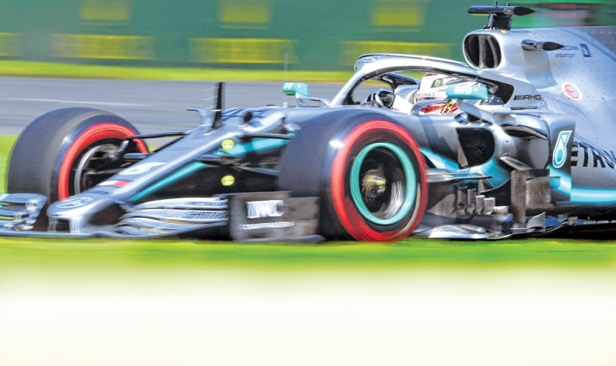 Australian Grand Prix: Lewis Hamilton breaks Pole