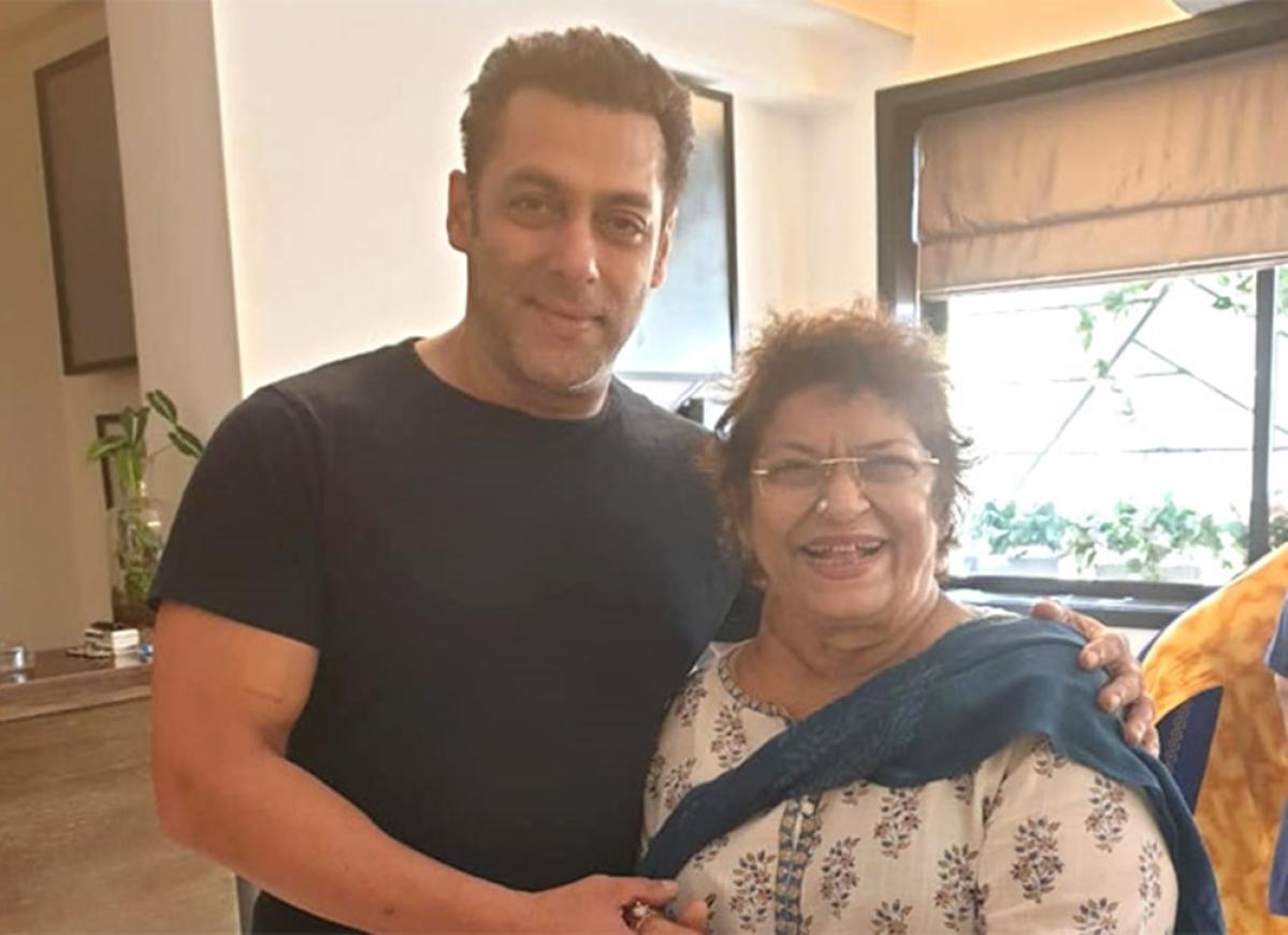 Salman Khan has assured that he will work with Saroj Khan soon