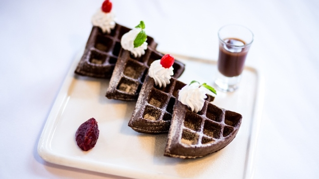 Black Forest Waffle at Fable