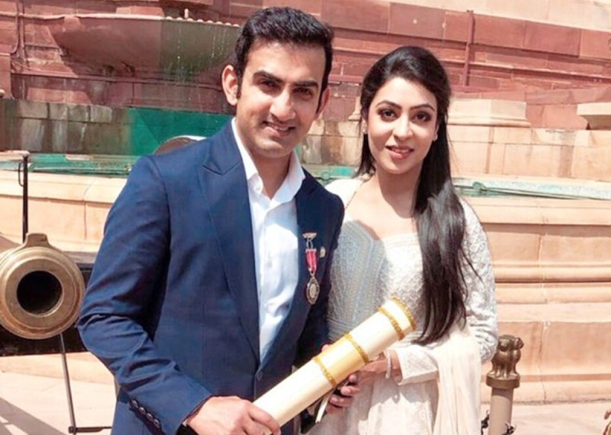 I get fired everyday at home! Gautam Gambhir teases wife Natasha after receiving Padma Shri