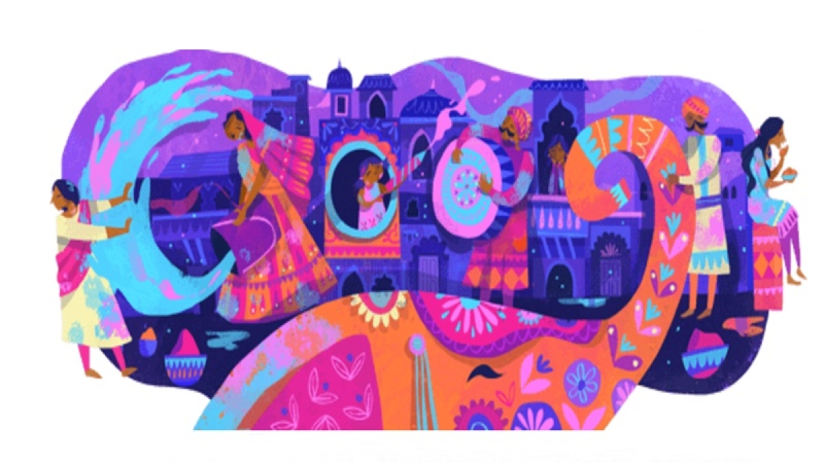 Holi 2019: Google marks festival of colours with doodle