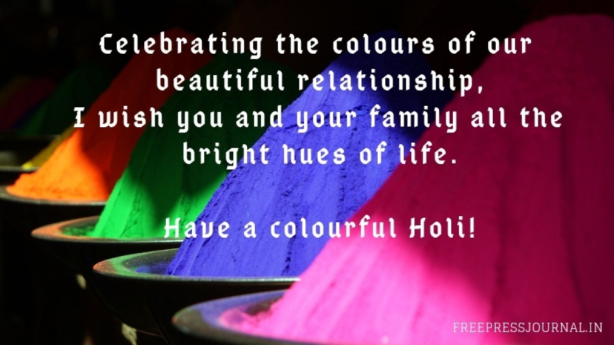 Holi 2019 Wishes Messages Images To Share On Whatsapp Facebook Instagram And Sms