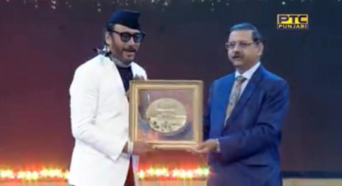 Jackie Shroff honoured with special recognition award at PTC Punjabi Film awards