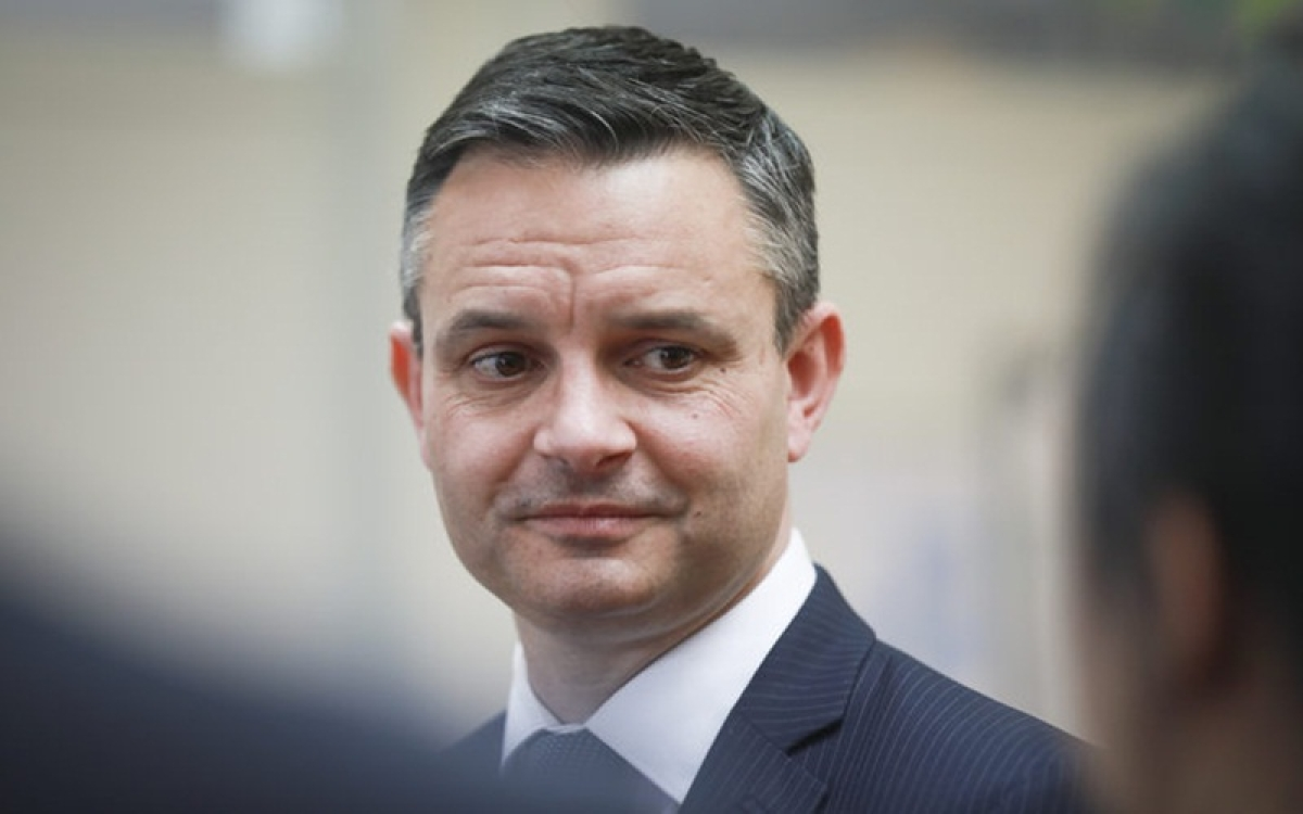 New Zealand Climate Minister James Shaw punched in face