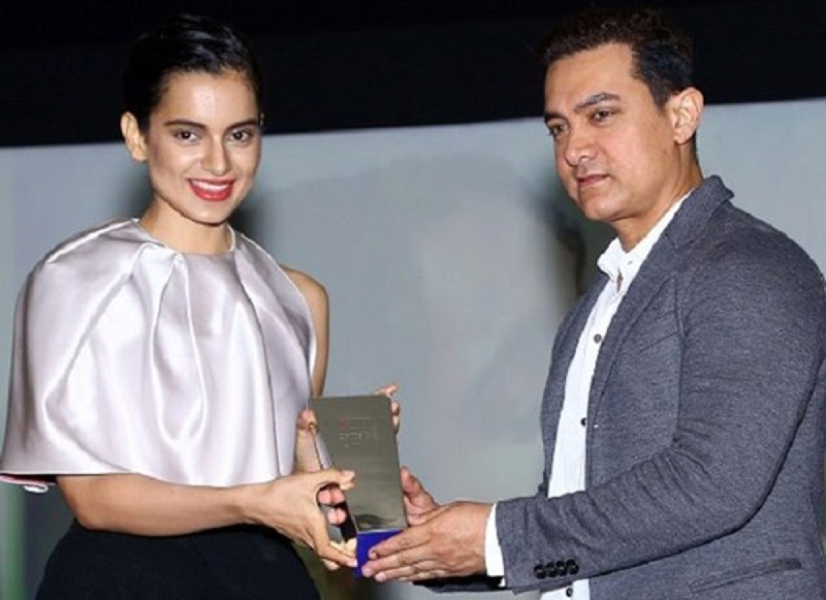 Aamir Khan has no clue that Kangana Ranaut is angry with him