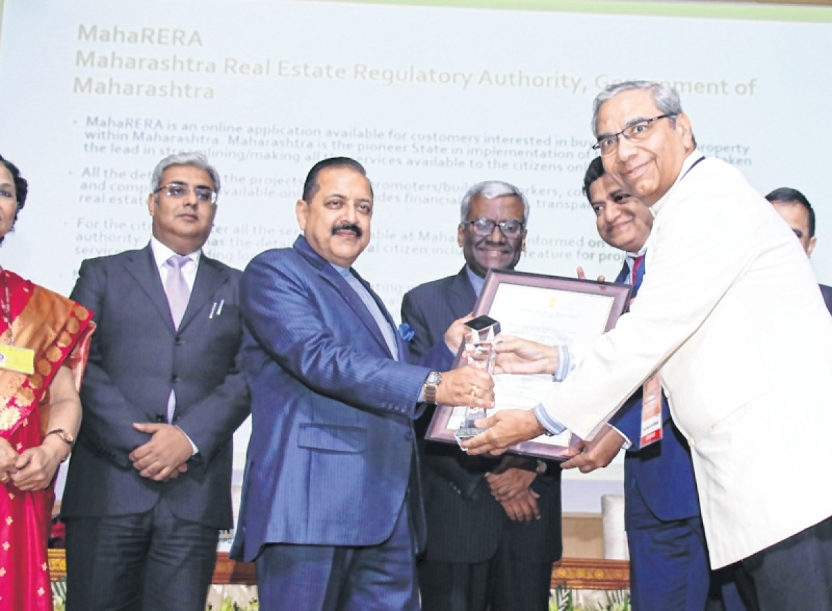 Maharashtra RERA wins national e-governance silver award
