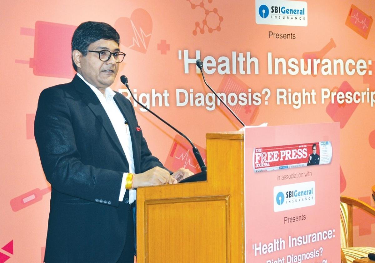 FPJ health conference: Health insurance will play vital role in universal health coverage, says Aditya Birla Health Insurance CEO Mayank Bathwal