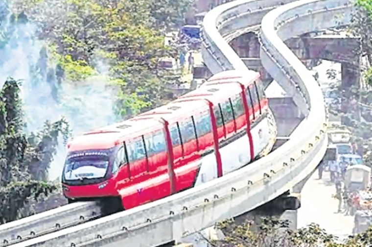 No new monorail train for Mumbai