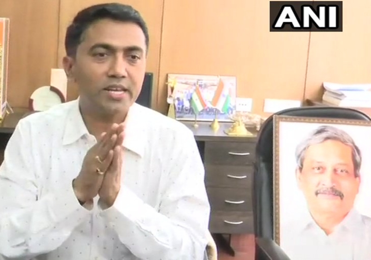 Pramod Sawant takes charge as new Goa Chief Minister, says floor test on Wednesday