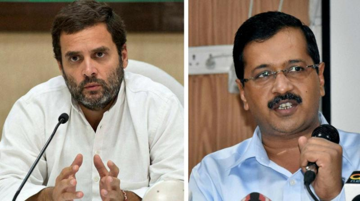 Delhi Congress leaves decision regarding alliance with AAP on Rahul Gandhi