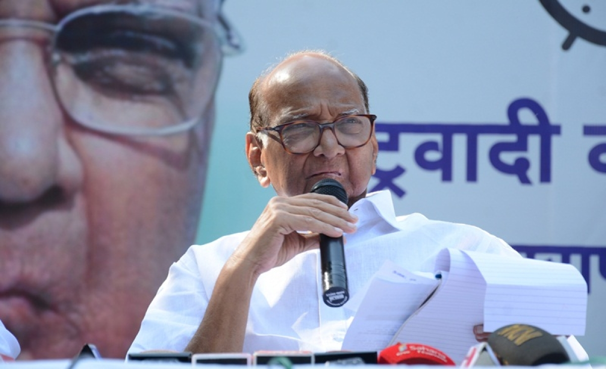 PM Modi government does not value farmers' hard work: Sharad Pawar