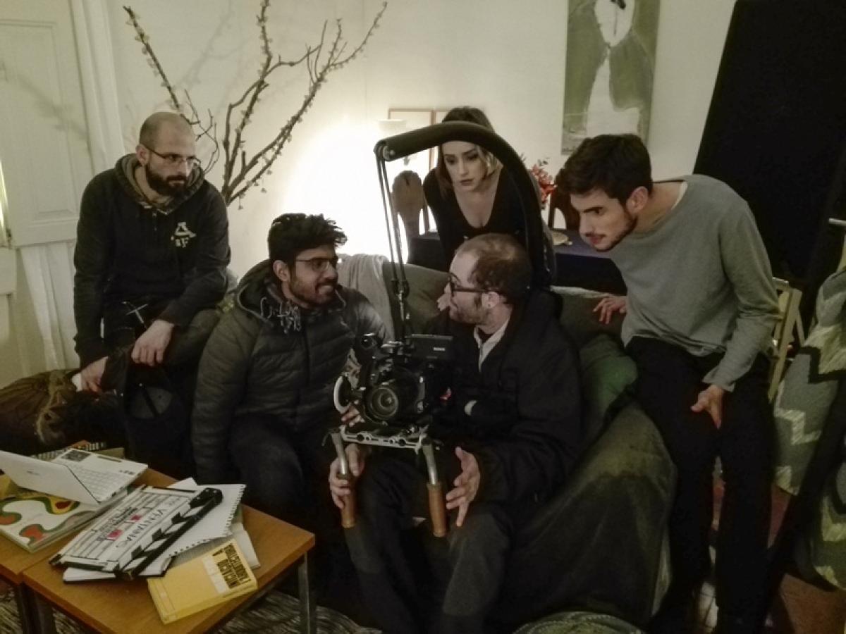 Behind the Scenes for my film, 'Las Ventanas'