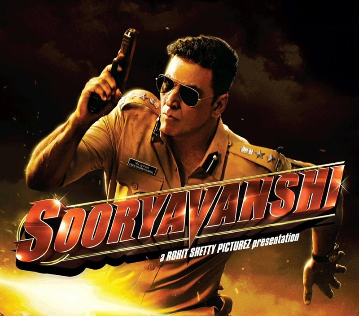 Akshay Kumar reveals the first look of Rohit Shetty's 'Sooryavanshi'