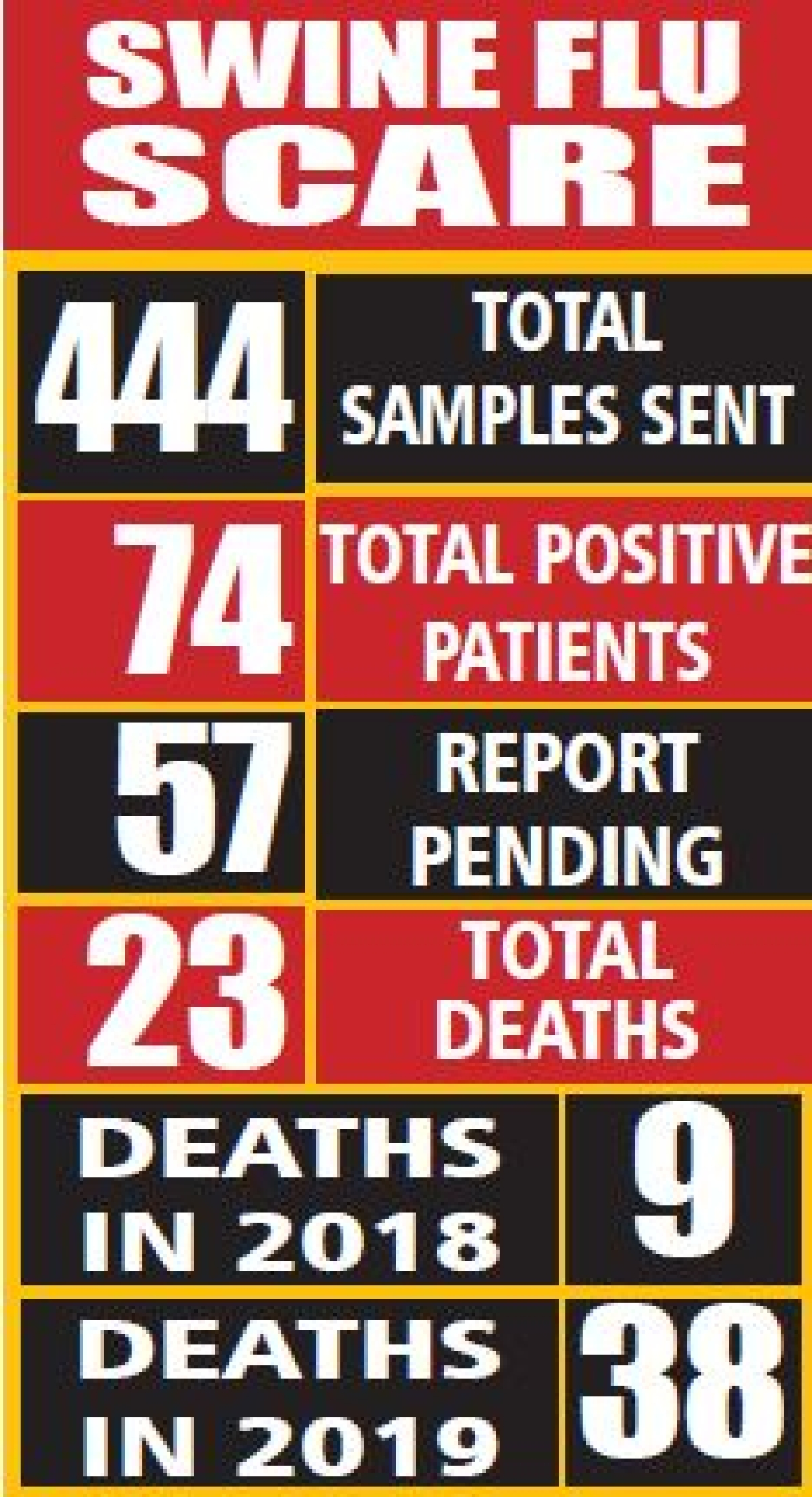 Indore: Swine flu 'sting' fails to prompt government action