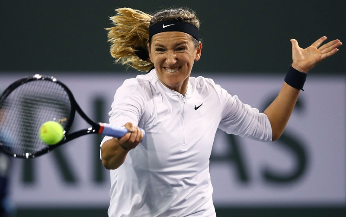 Indian Wells: Victoria Azarenka sets up second-round clash against Serena Williams