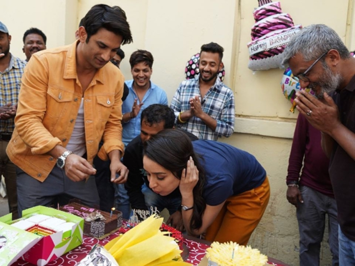 In Pics: Shraddha Kapoor celebrates her birthday with Sushant Singh Rajput and 'Chhichhore' team